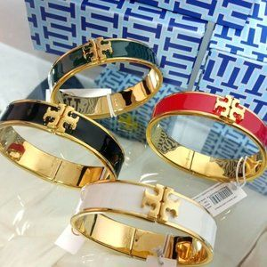 Wide Version Multicolor Enamel Bracelet